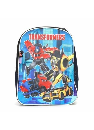 Transformers Okul Çantası Lacivert